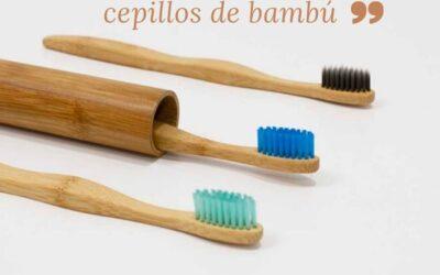 Conoce los cepillos de bambú