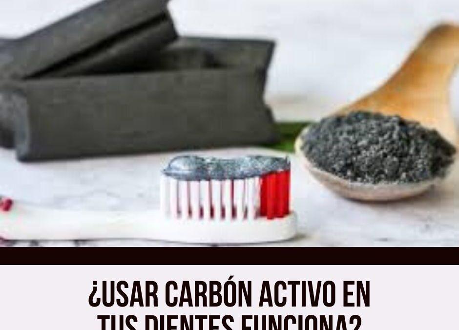 ¿Usar carbón activo en tus dientes funciona?