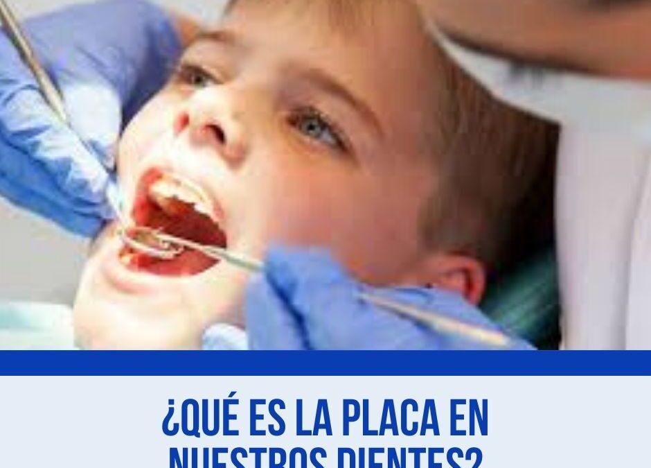 ¿Qué es la Placa en nuestros dientes?